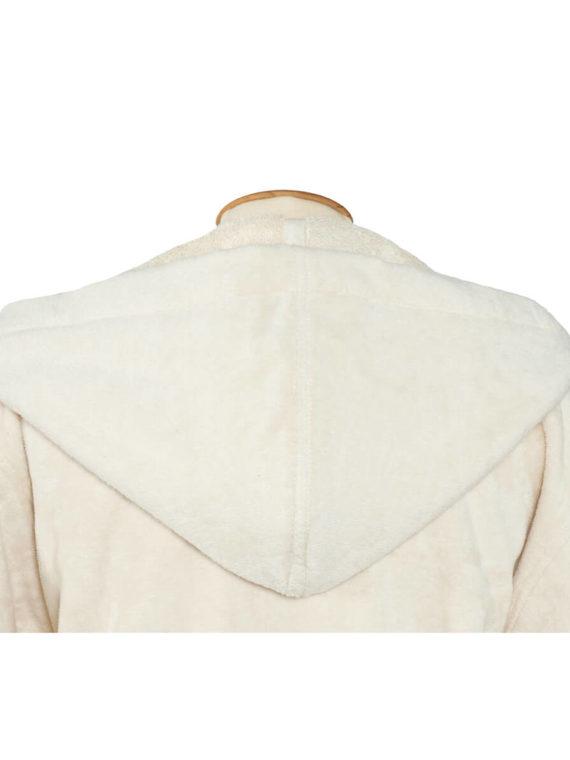 Peignoir éponge américain en coton biologique avec capuche. Peignoir Adulte, Enfant, Bébé