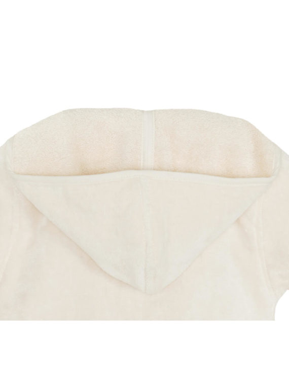 Peignoir enfant en coton biologique avec capuche