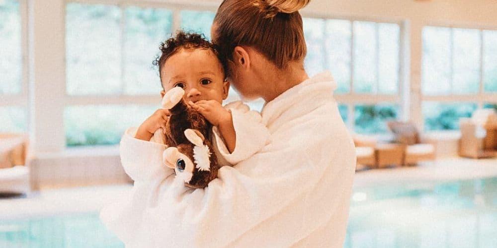 Peignoir femme et Peignoir bébé