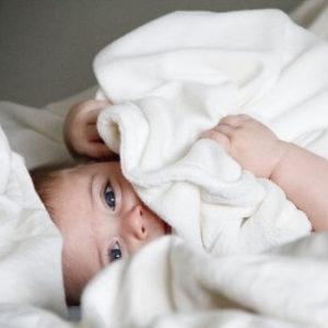 peignoir coton bebe cadeau