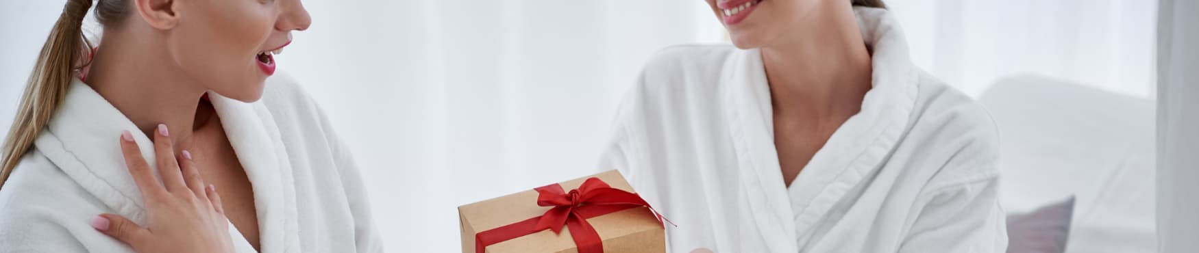 Offrir un peignoir pour Noël