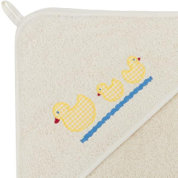 cape bain bebe canard coton biologique