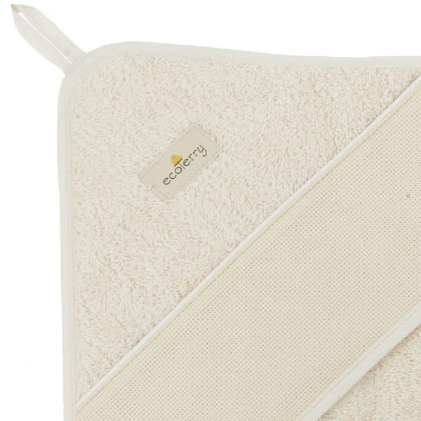 cape bain coton biologique bande point croix